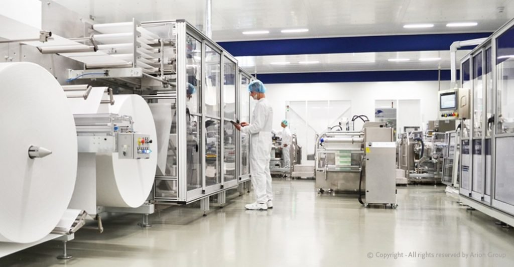 Production Cleanroom ISO Class 6